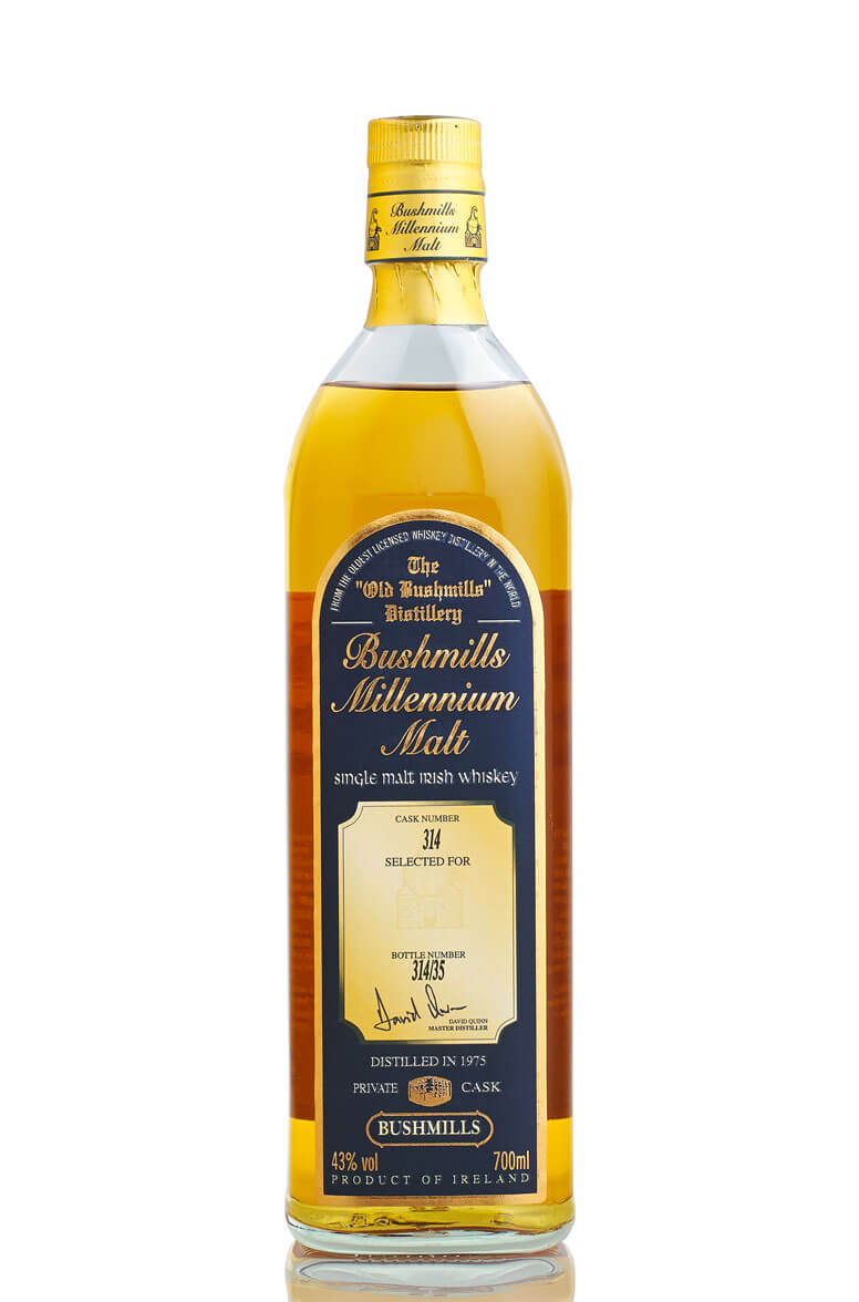 Bushmills Millennium 1975 Single Cask