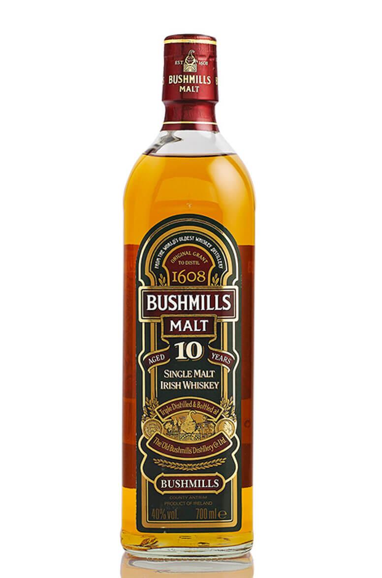 Bushmills 10 Year Old Single Malt Old Bottling