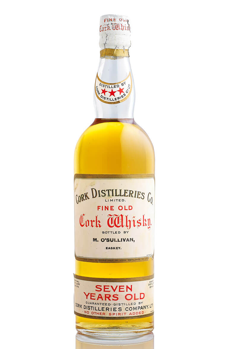 Cork Distilleries Fine Old Cork Whisky 7 Year Old