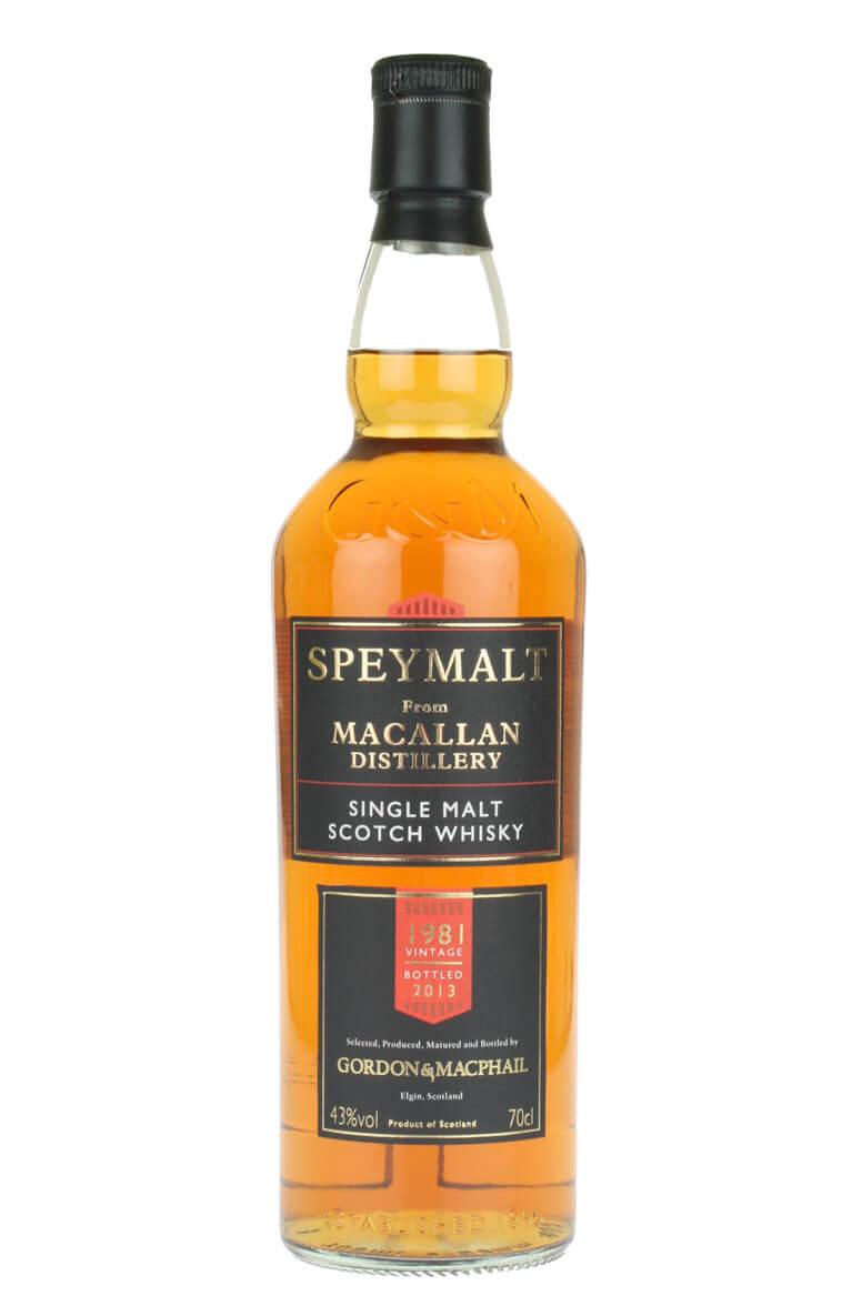 Speymalt Macallan 1981