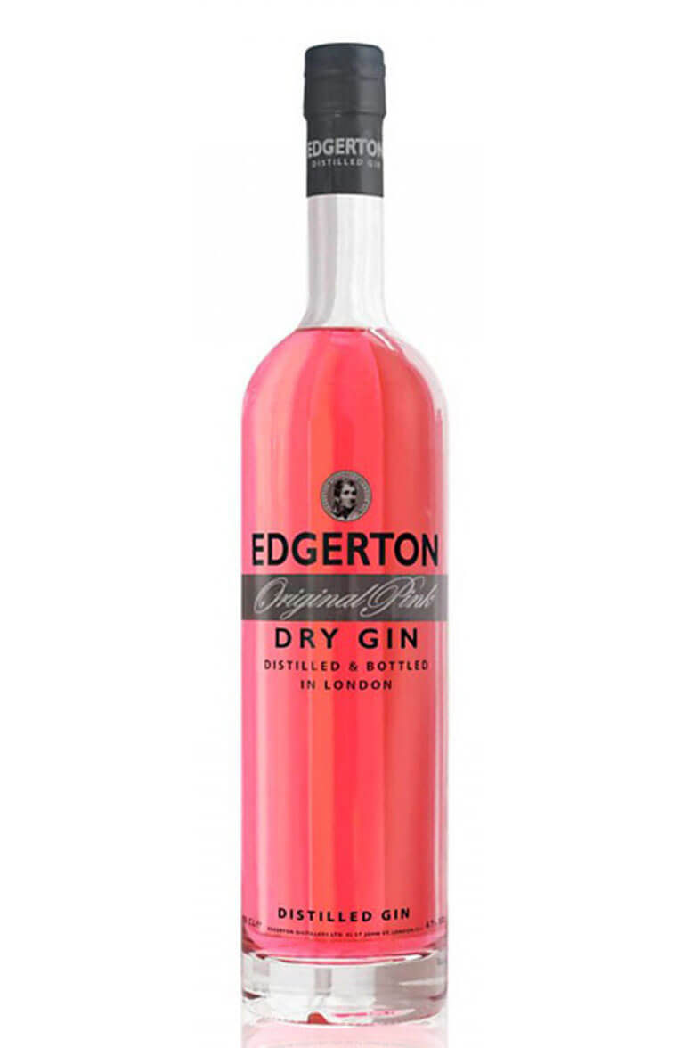 Edgerton London Pink Gin