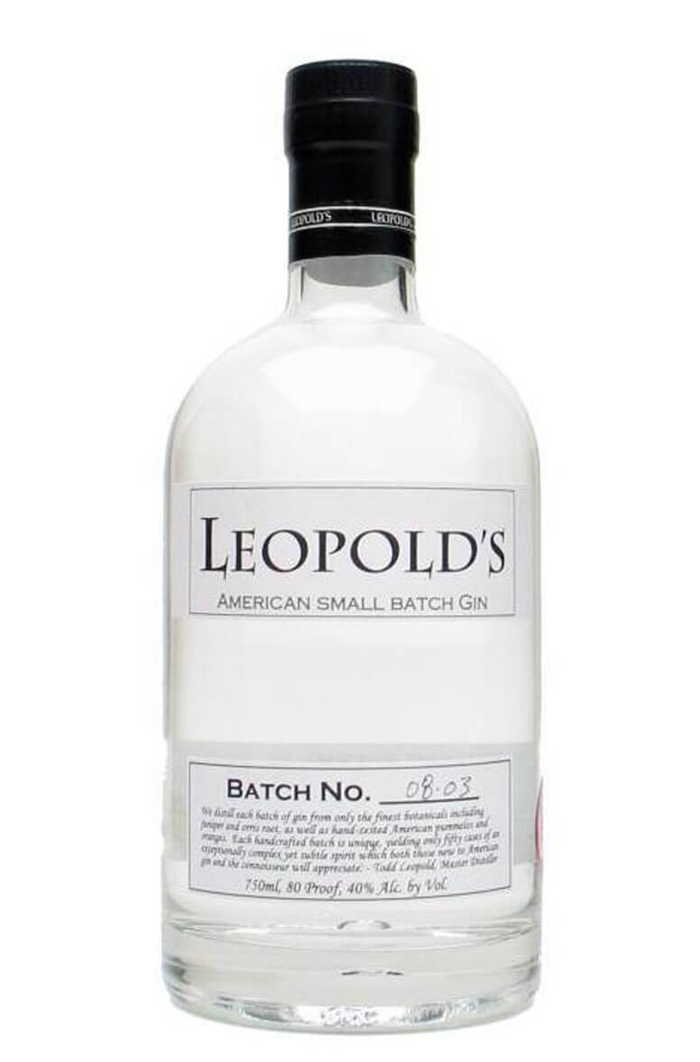 Leopolds Gin American Small Batch