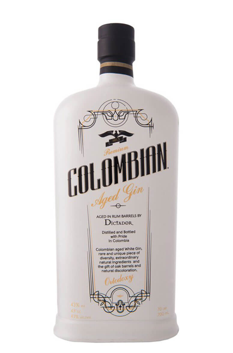 Colombian Aged Gin Ortodoxy