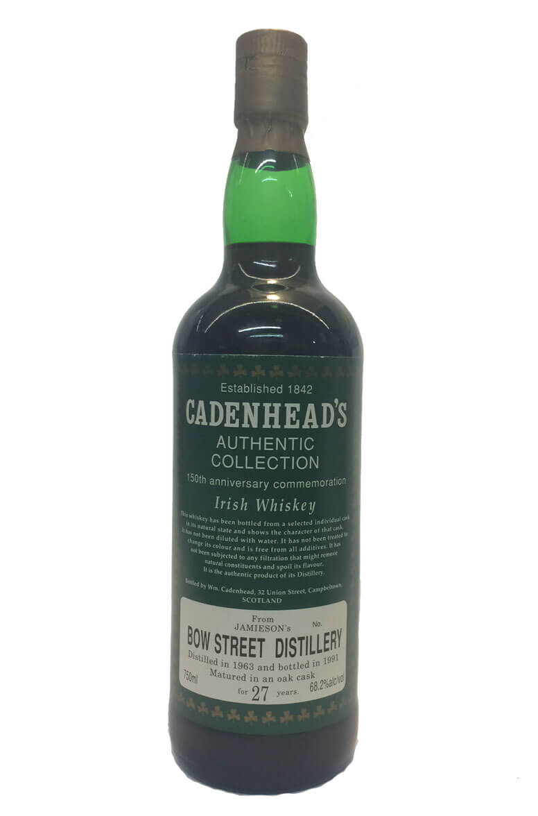 Cadenhead Jameson Bow St 27 Year Old