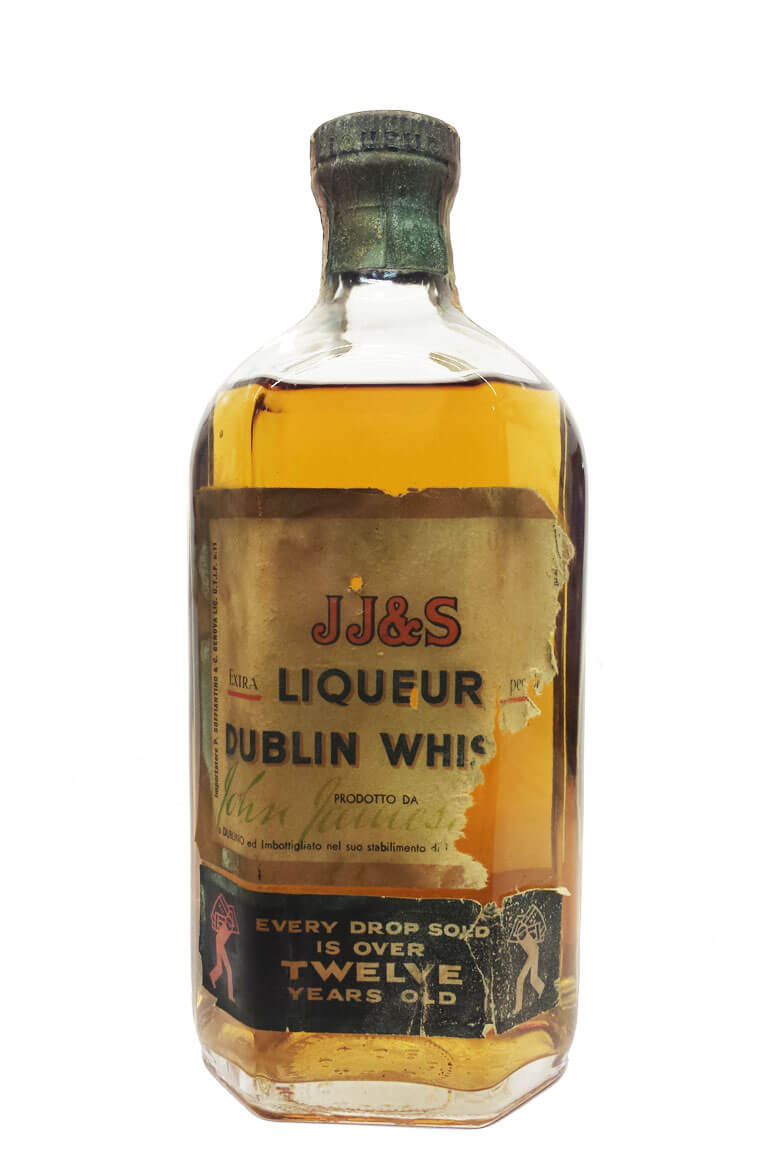 Jameson 12 Year Old JJ&S Liqueur Dublin Whiskey