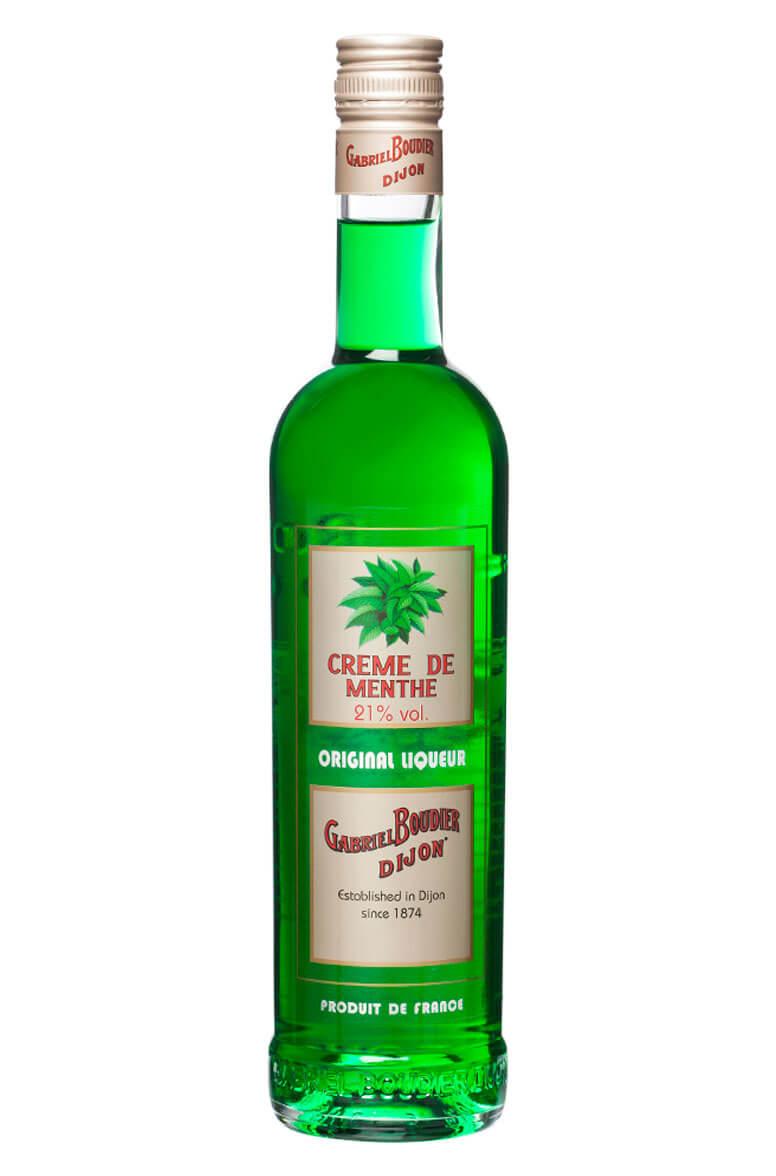 Créme de Menthe Green Boudier