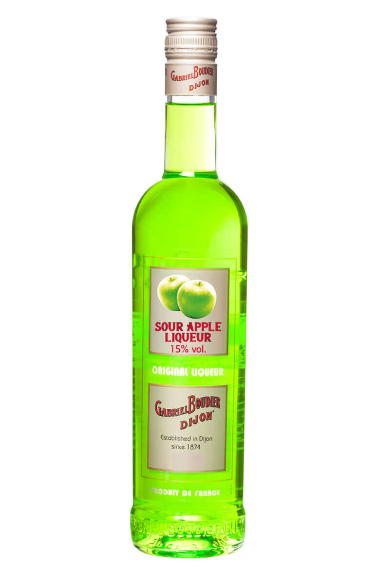 Sour Apple Liqueur Gabriel Boudier