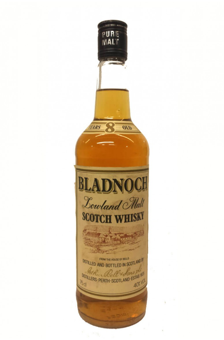 Bladnoch 8 Year Old Arthur Bell & Sons 1980s Bottling