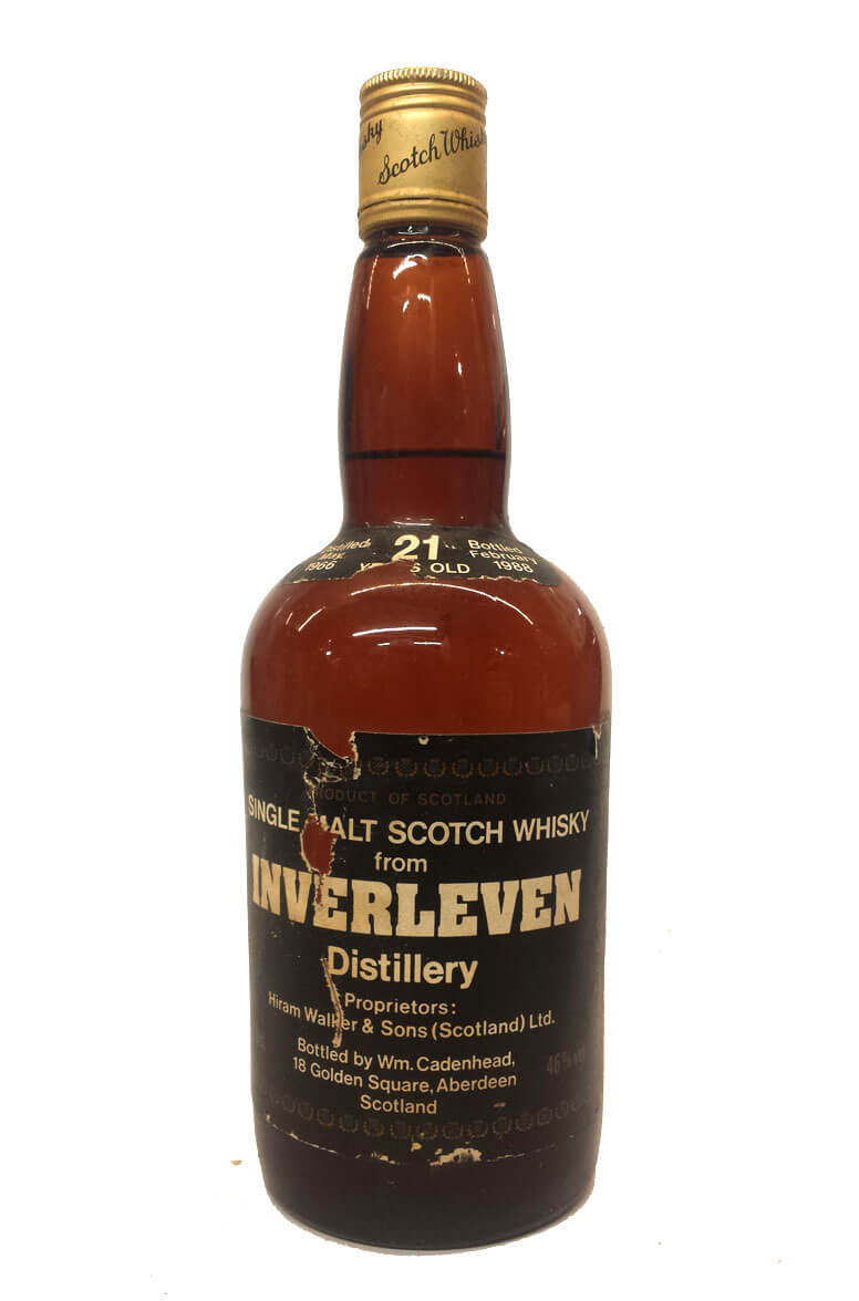 Inverleven Cadenhead Bottling 21 Year Old