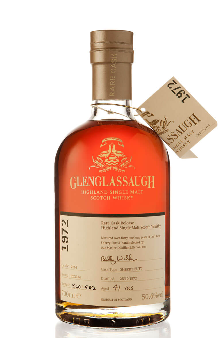 Glenglassaugh 1972 Single Cask 2114 41 Year Old