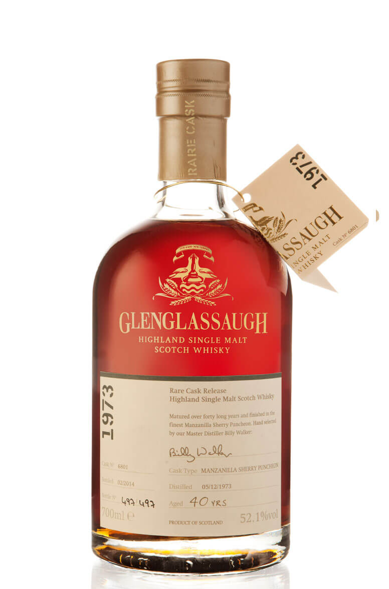 Glenglassaugh 1973 Single Cask 6801 40 Year Old