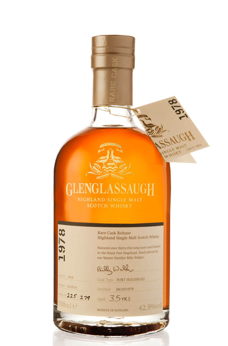 Glenglassaugh 1978 Single Cask 1810 35 Year Old