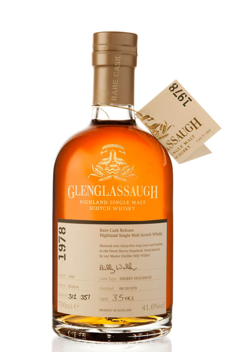 Glenglassaugh 1978 Single Cask 1803 35 Year Old