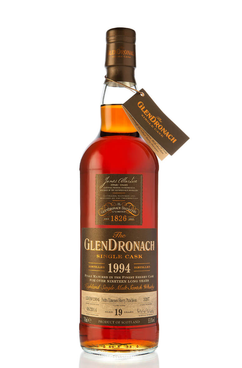 Glendronach 1994 Single Cask 3397 19 Year Old