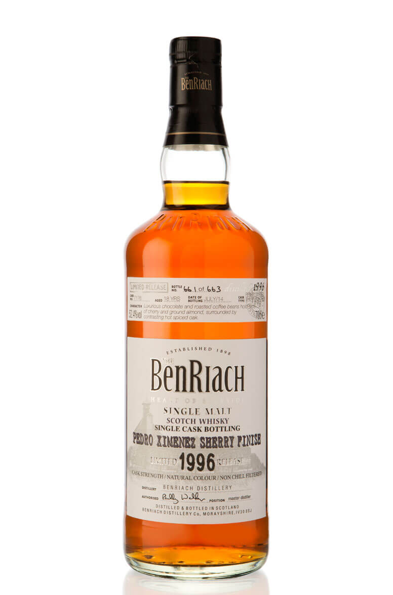 Benriach 1996 Single Cask 7176 18 Year Old