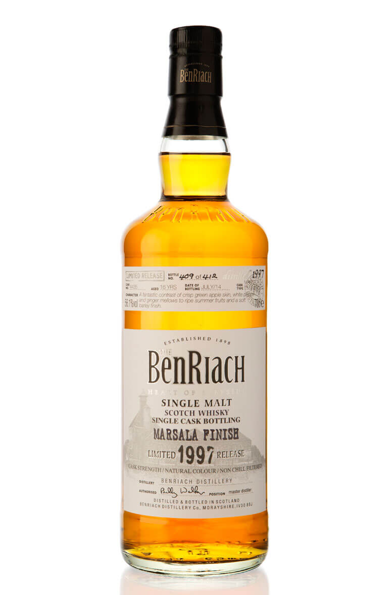 Benriach 1997 Single Cask 4435 16 Year Old