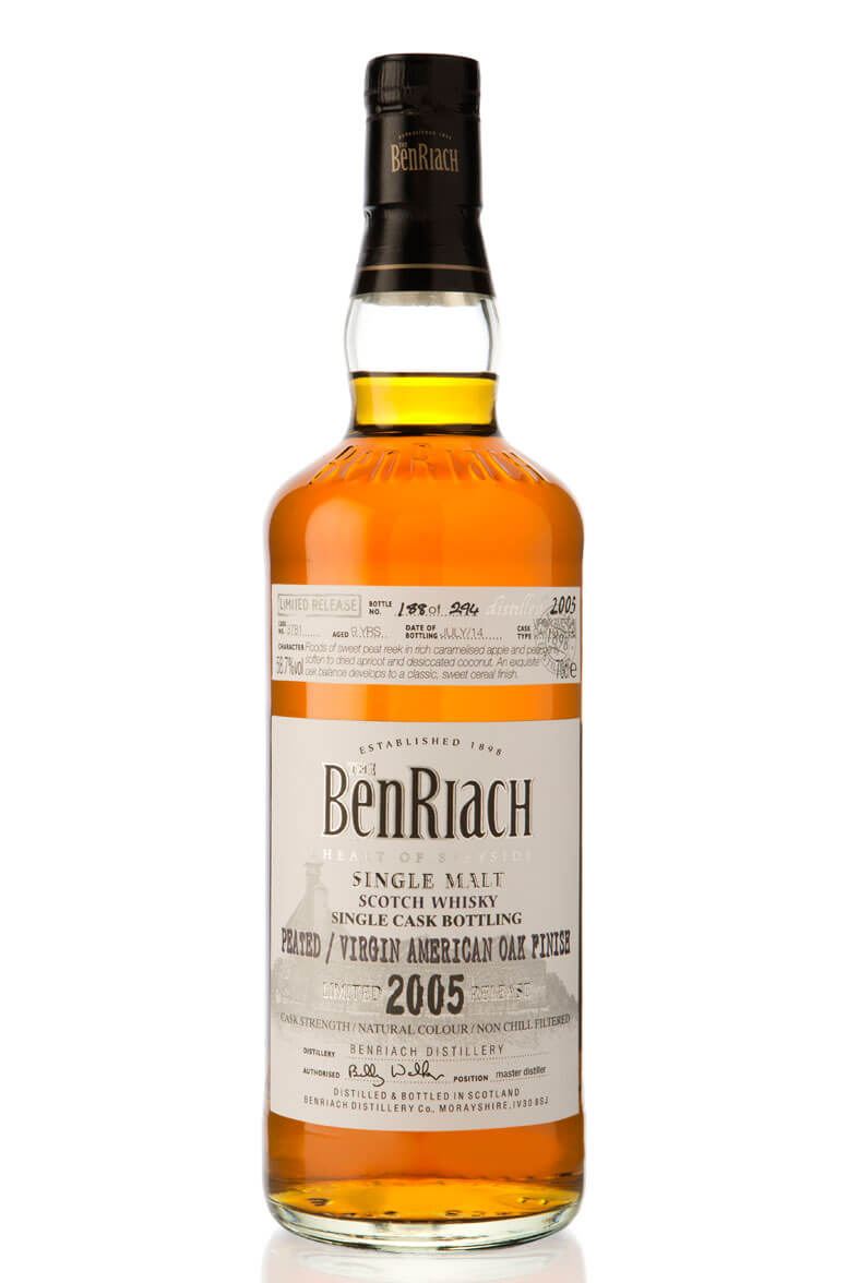 Benriach 2005 Single Cask 3781 9 Year Old
