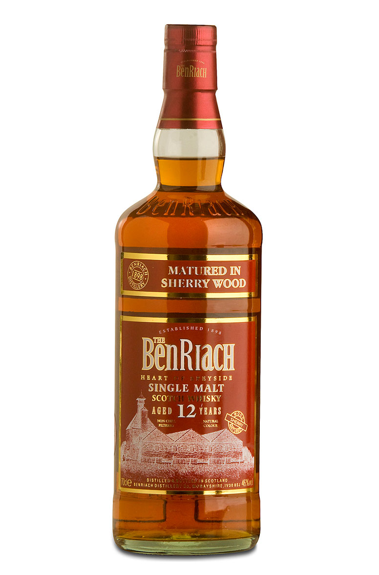 BenRiach 12 Year-Old Sherry Matured