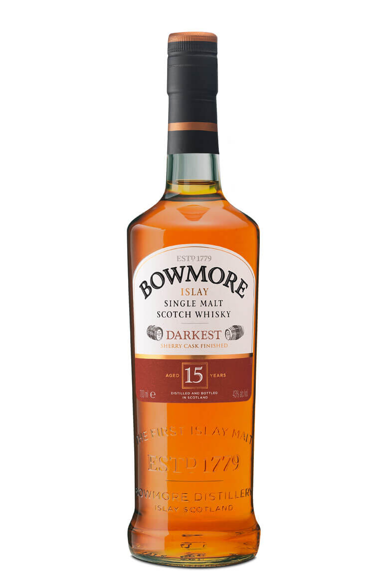 Bowmore Darkest 15 Year-Old