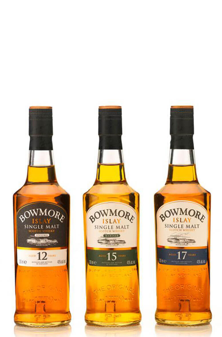 Bowmore Classic Collection (3x20cl)