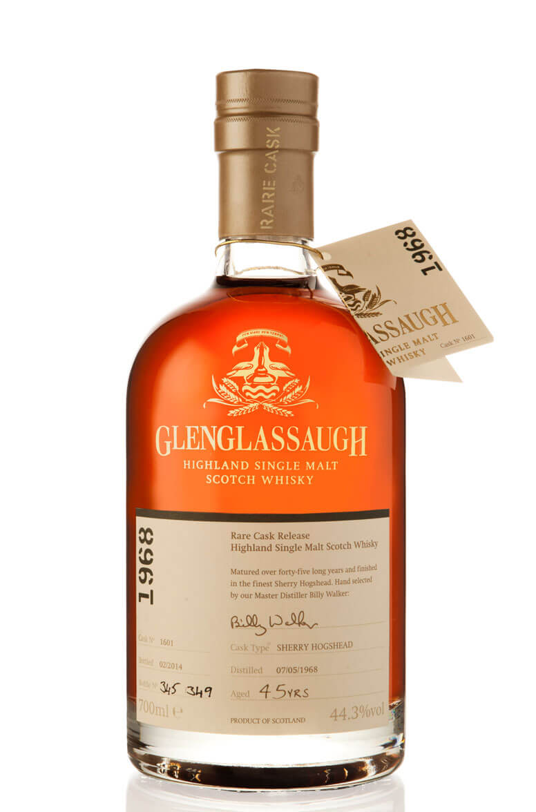 Glenglassaugh 1968 Single Cask 1601 45 Year Old