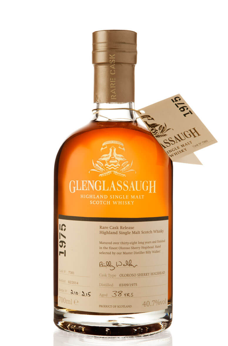 Glenglassaugh 1975 Single Cask 7301 38 Year Old
