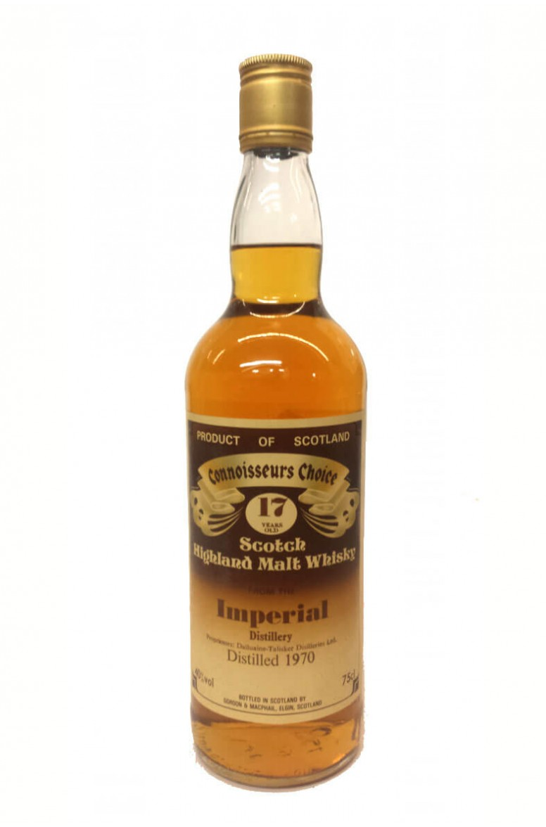 Imperial 17 Year Old Gordon and MacPhail 1980s