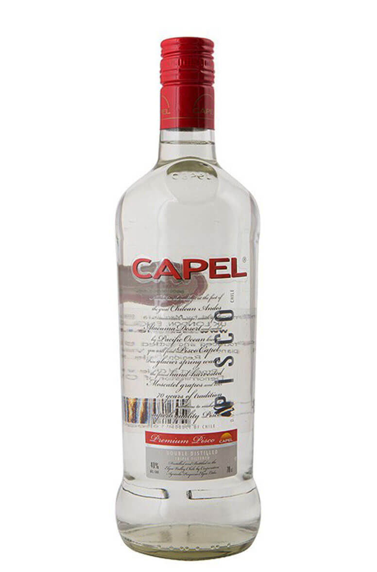 Capel Pisco 2D Transparante
