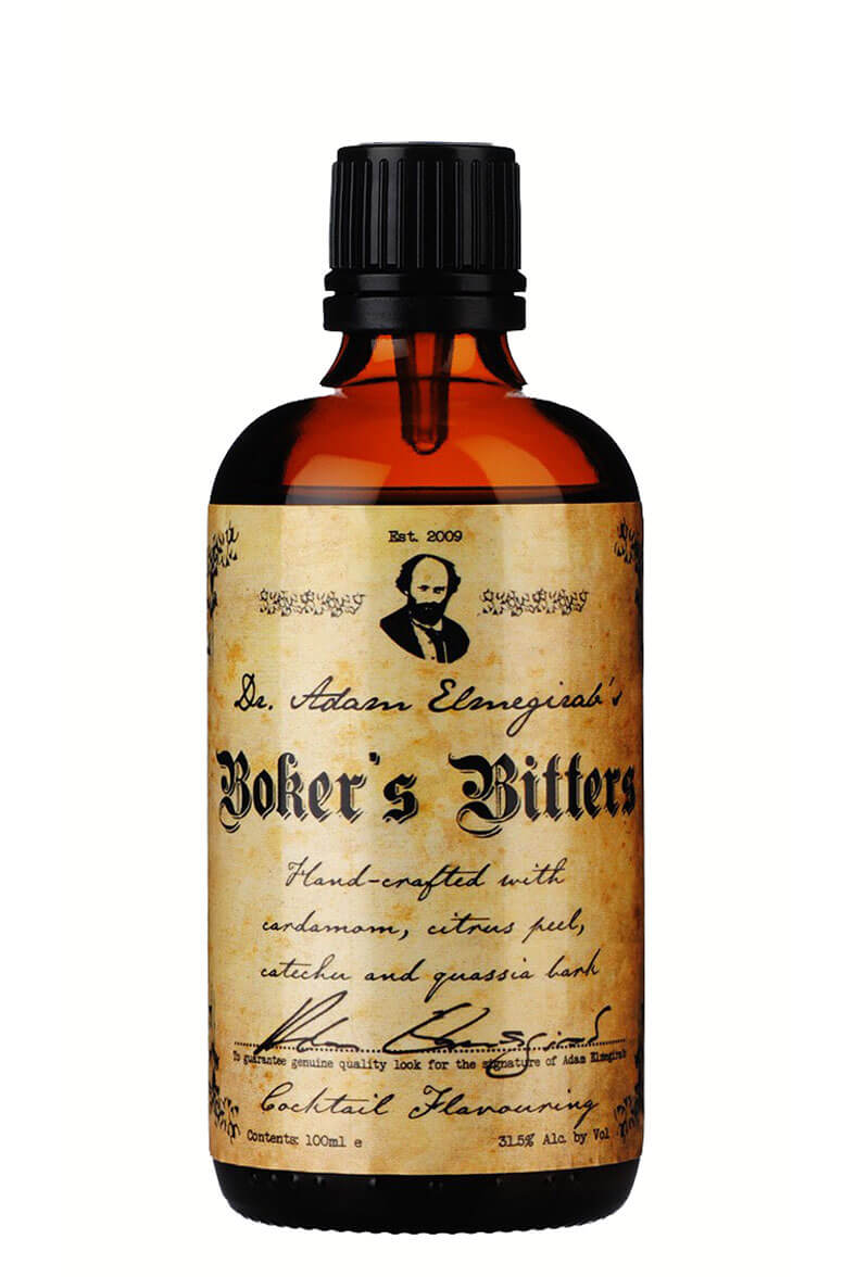 Dr. Adam Elmegirab's Boker's Bitters