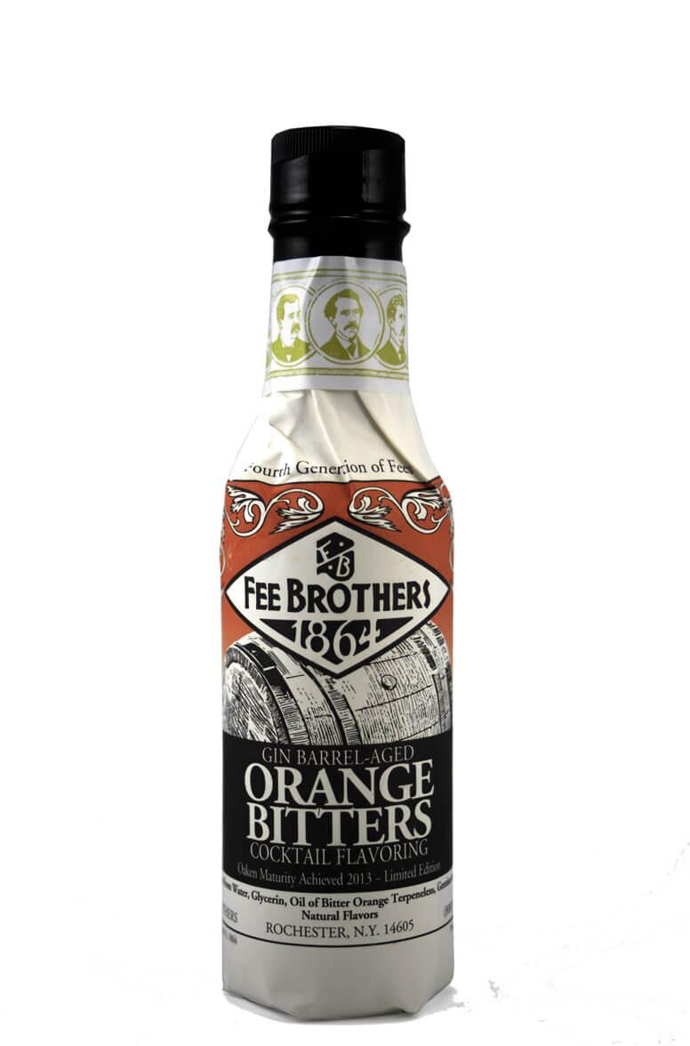 Fee Bros Gin Barrel Aged Orange Bitters