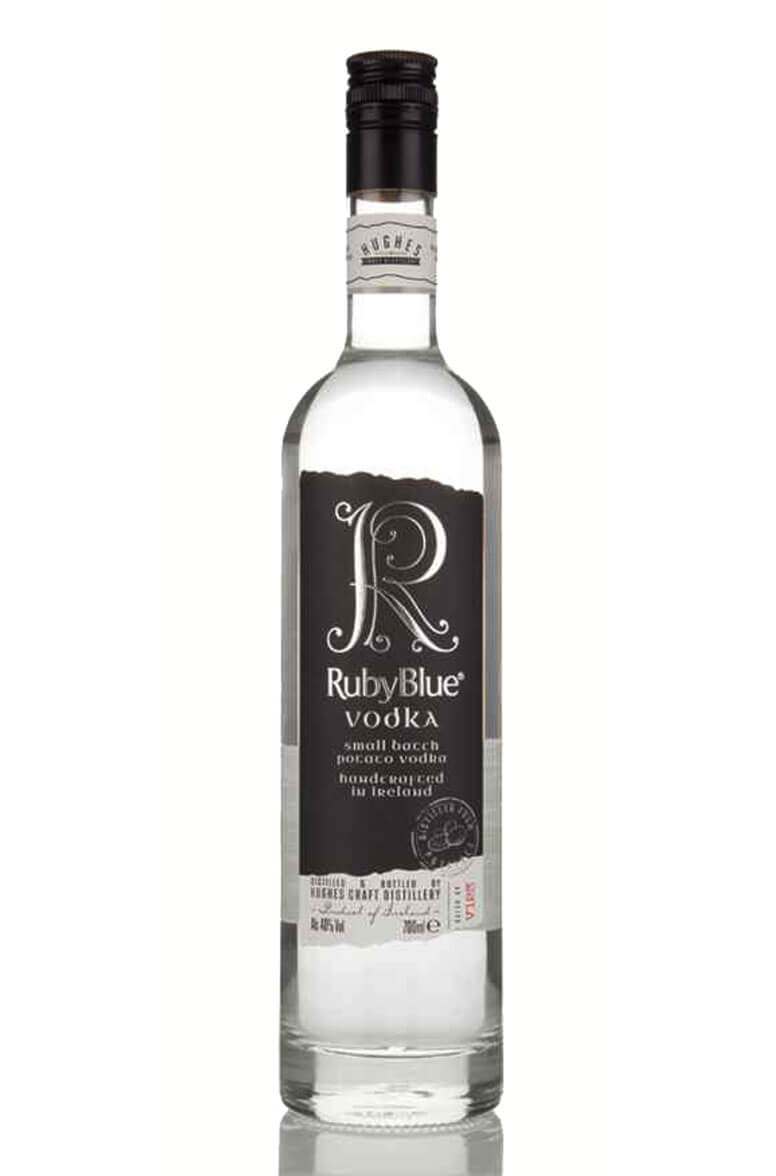 Ruby Blue Small Batch Potato Vodka
