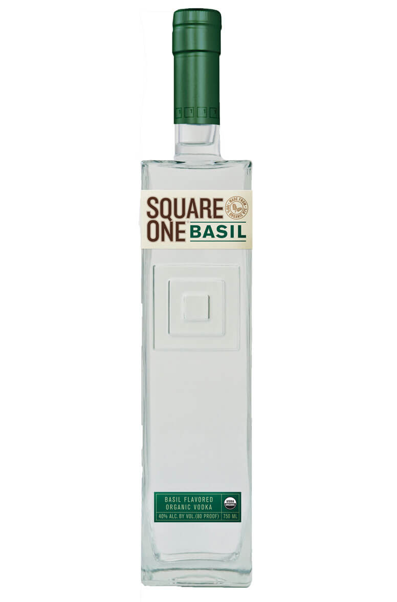 Square 1 Basil Vodka