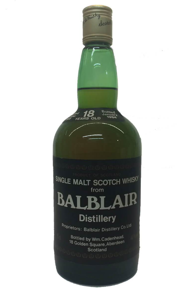 Balblair Cadenhead Bottling 18 Years Old