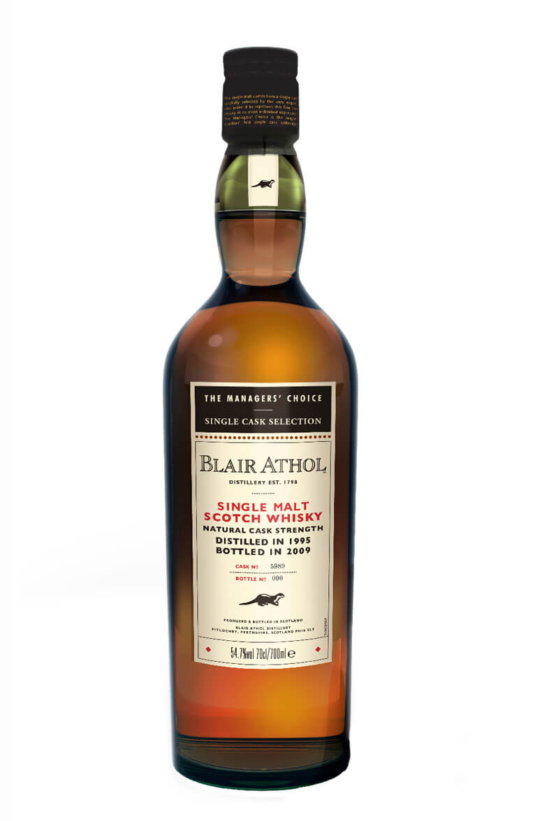 Blair Athol 1995 Sherry Cask Managers Choice