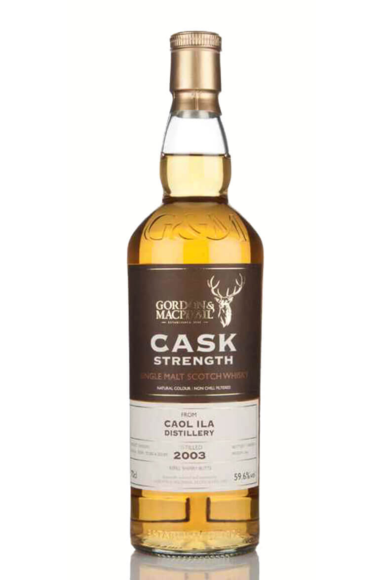 Caol Ila 2003 Cask Strength Gordon and MacPhail