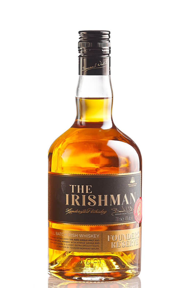 Irishman Founders Reserve Whiskey