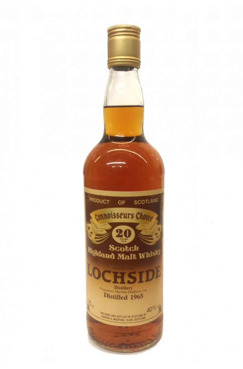 Lochside 20 Year Old Gordon and MacPhail 1980s