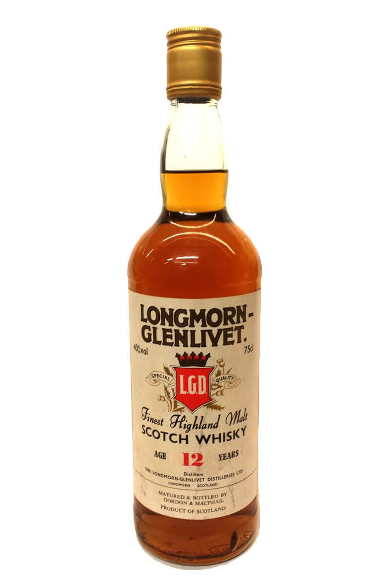 Longmorn-Glenlivet 12 Year Old 1980s Gordon and MacPhail