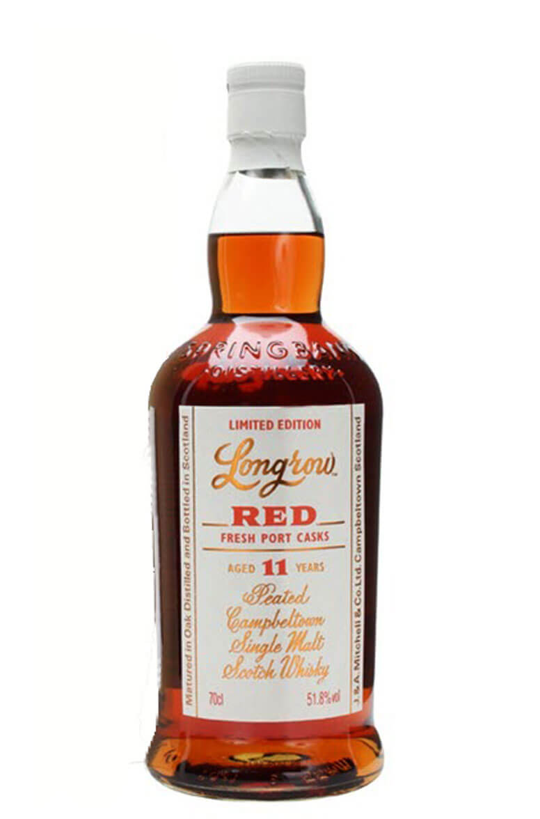 Longrow Red 11 Year Old Port Cask