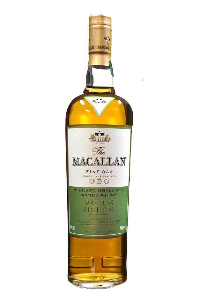Macallan Fine Oak Masters Edition