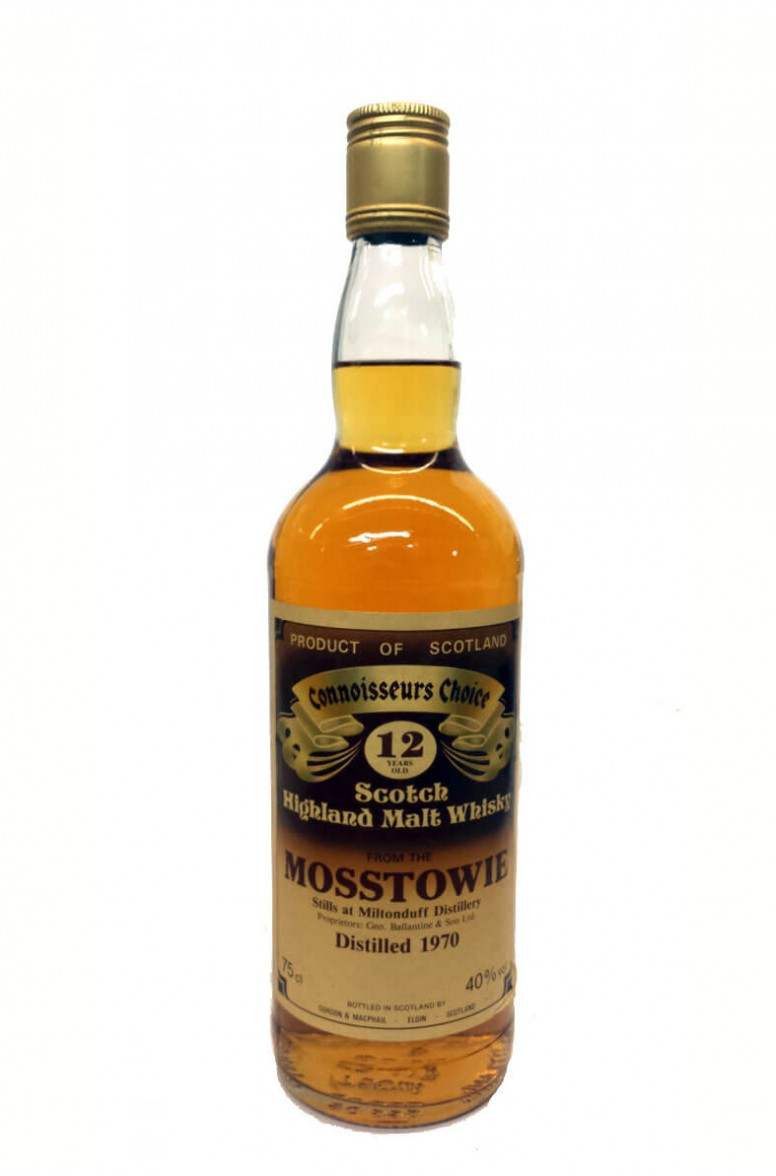Mosstowie 12 Year Old Gordon and MacPhail 1980s