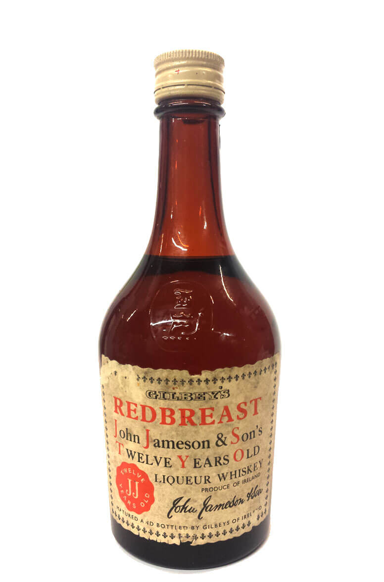 Redbreast 12 Year Old Gilbeys 1/2 Bottle