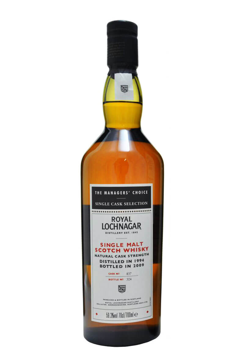 Royal Lochnagar 1994 Sherry Cask Managers Choice