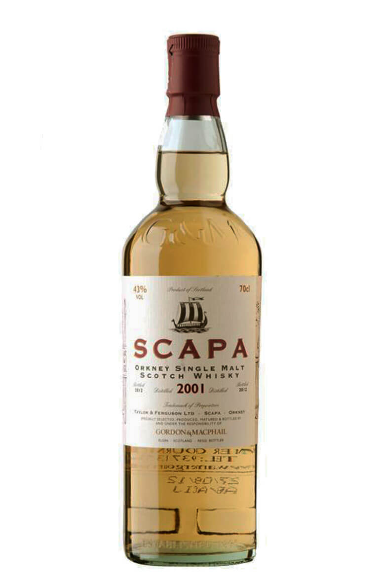 Scapa 2001 Gordon and Macphail 70cl