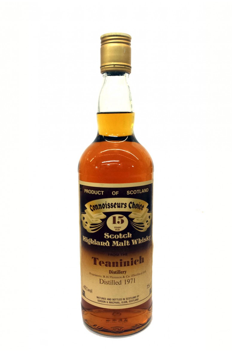 Teaninich 15 Year Old Gordon and MacPhail 1980s