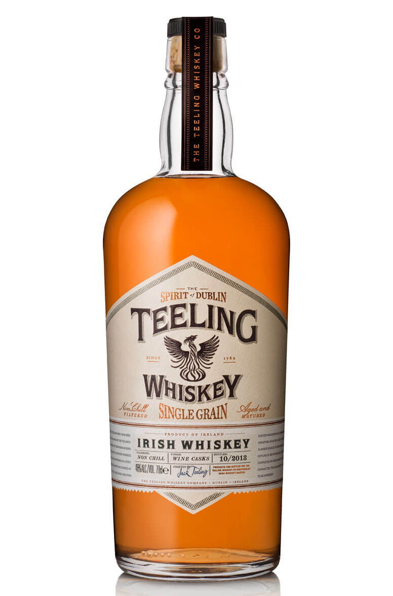 Teeling Single Grain Red Wine Cask Finish