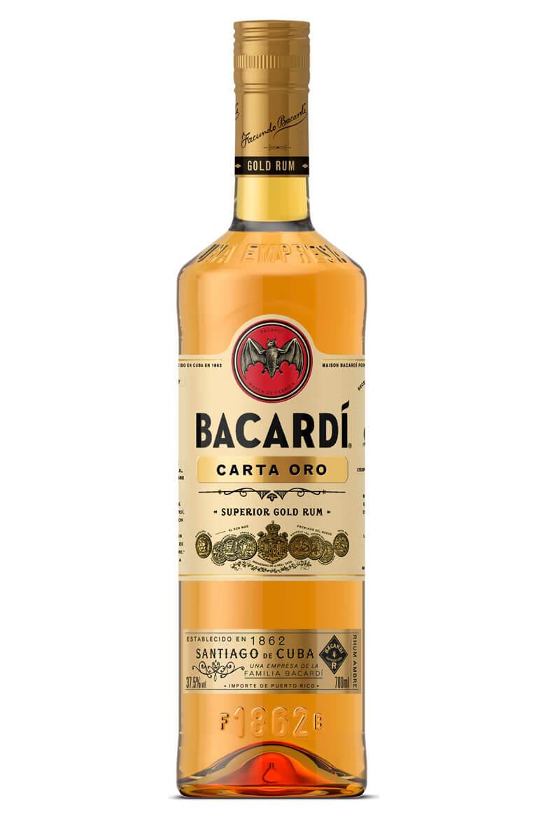 Bacardi Gold Carta Oro Rum