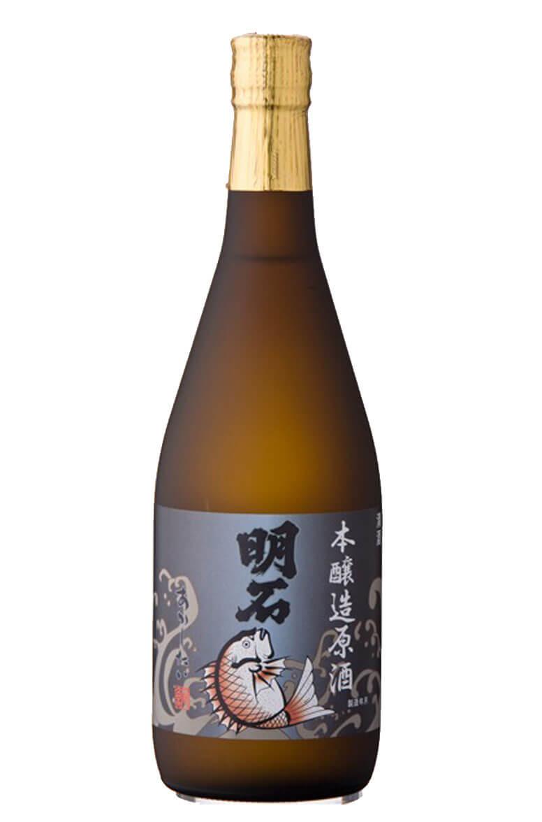 Akashi-Tai Honjozu Genshu Sake