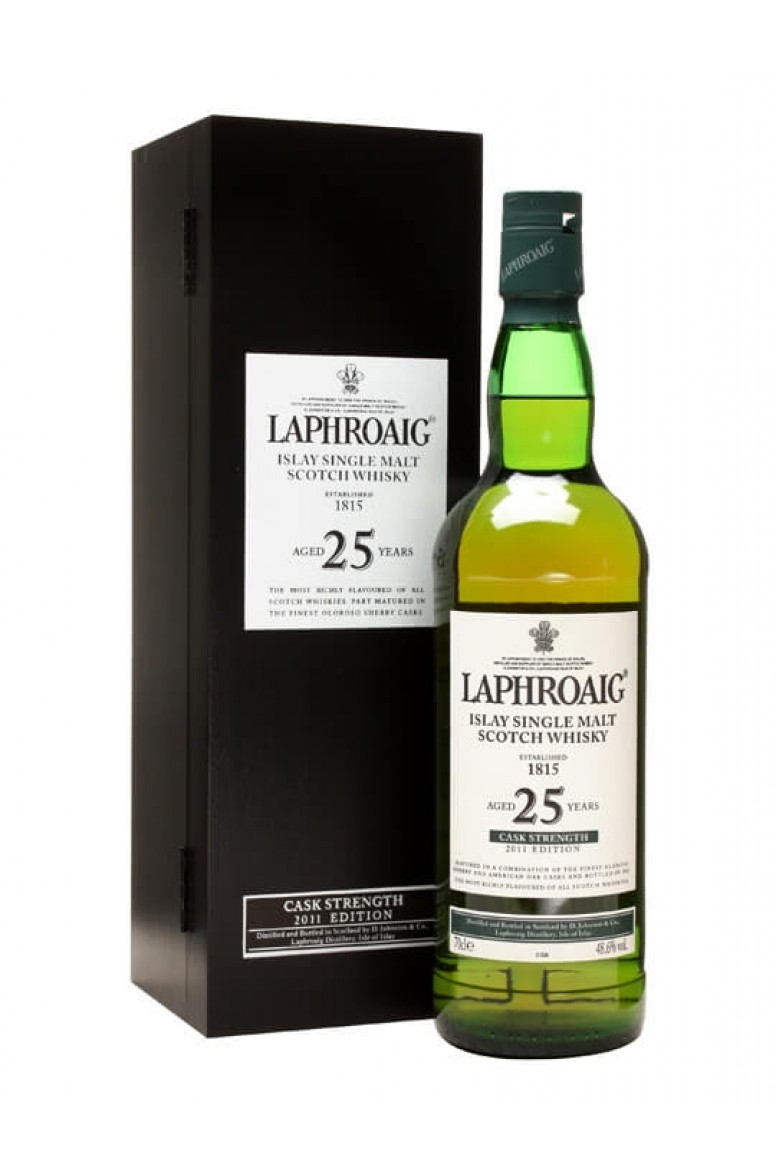 Laphroaig 25 Year Old Cask Strength