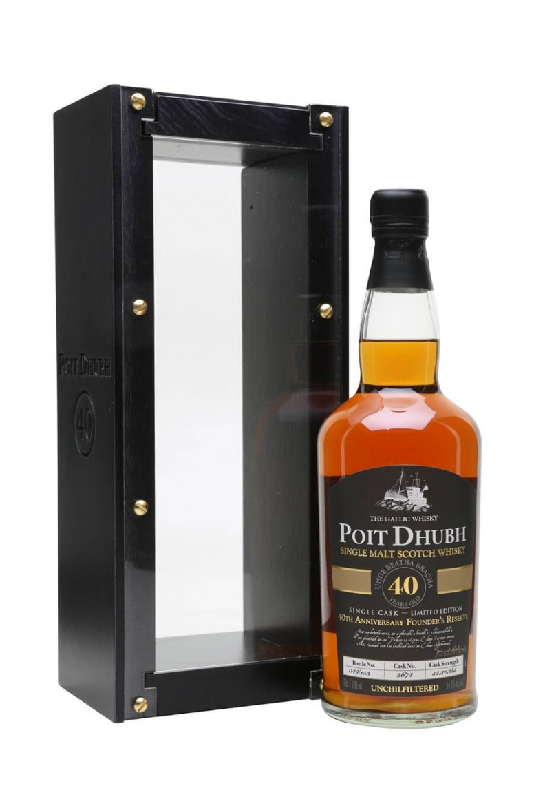 Poit Dhubh 40 Year Old Single Malt